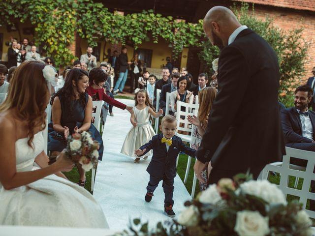 Il matrimonio di Fabrizio e Giulia a Sillavengo, Novara 70