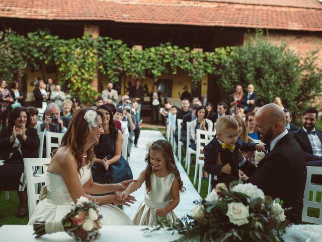 Il matrimonio di Fabrizio e Giulia a Sillavengo, Novara 71