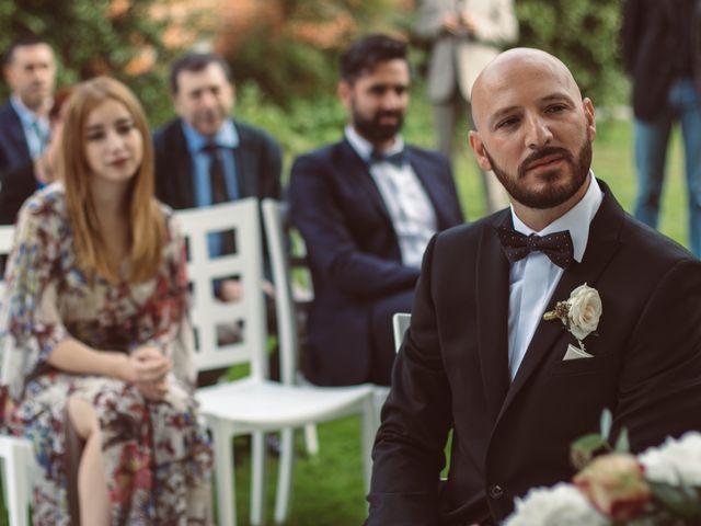 Il matrimonio di Fabrizio e Giulia a Sillavengo, Novara 74