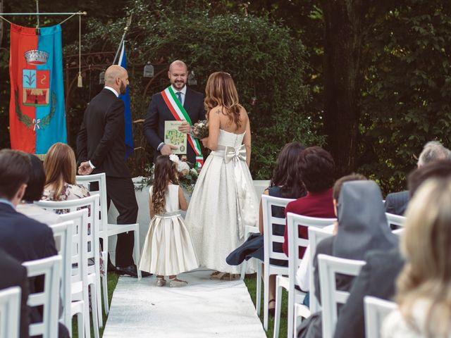 Il matrimonio di Fabrizio e Giulia a Sillavengo, Novara 78