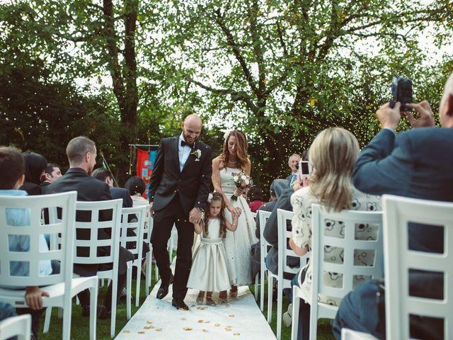 Il matrimonio di Fabrizio e Giulia a Sillavengo, Novara 80