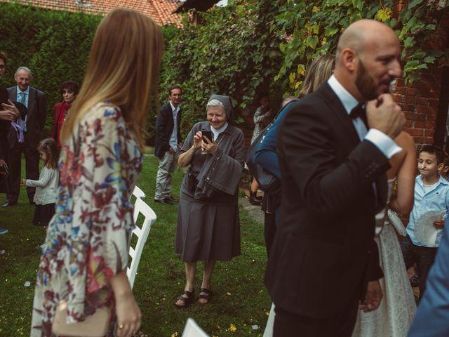 Il matrimonio di Fabrizio e Giulia a Sillavengo, Novara 92