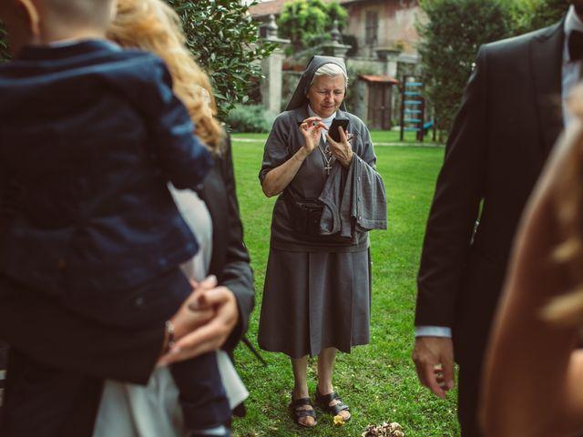 Il matrimonio di Fabrizio e Giulia a Sillavengo, Novara 94