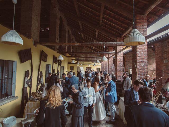 Il matrimonio di Fabrizio e Giulia a Sillavengo, Novara 105