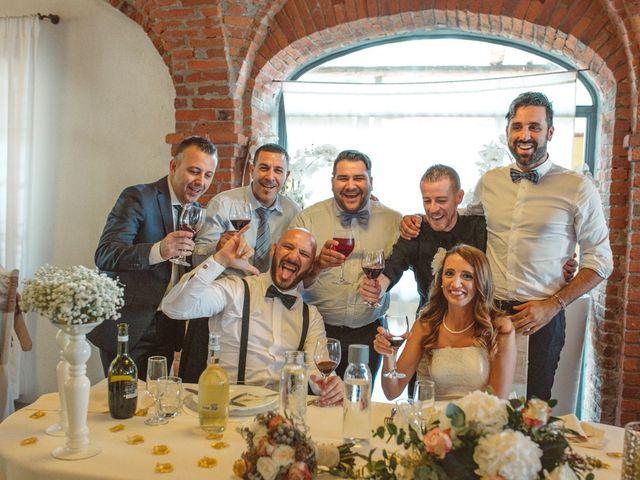 Il matrimonio di Fabrizio e Giulia a Sillavengo, Novara 130