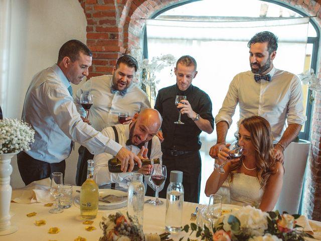 Il matrimonio di Fabrizio e Giulia a Sillavengo, Novara 131