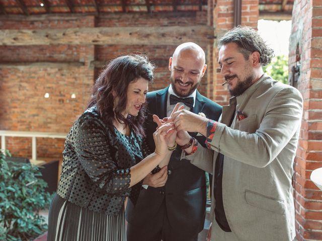 Il matrimonio di Fabrizio e Giulia a Sillavengo, Novara 134