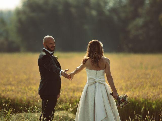 Il matrimonio di Fabrizio e Giulia a Sillavengo, Novara 143