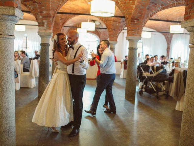 Il matrimonio di Fabrizio e Giulia a Sillavengo, Novara 152