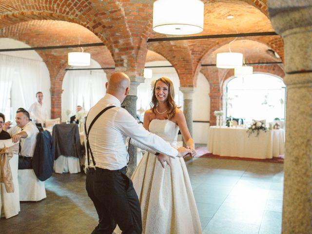 Il matrimonio di Fabrizio e Giulia a Sillavengo, Novara 153