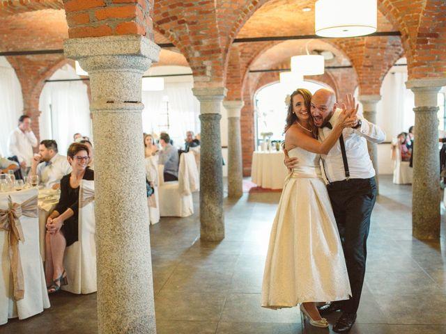 Il matrimonio di Fabrizio e Giulia a Sillavengo, Novara 154