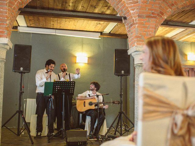 Il matrimonio di Fabrizio e Giulia a Sillavengo, Novara 155