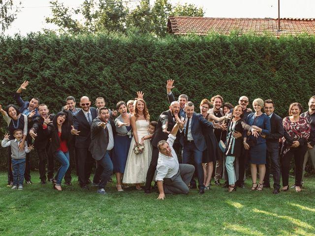 Il matrimonio di Fabrizio e Giulia a Sillavengo, Novara 163