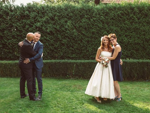 Il matrimonio di Fabrizio e Giulia a Sillavengo, Novara 164