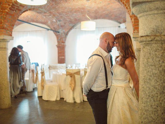 Il matrimonio di Fabrizio e Giulia a Sillavengo, Novara 180
