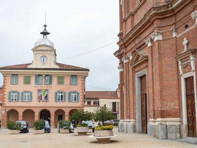 Il matrimonio di Oana e Salvatore a Feletto, Torino 7