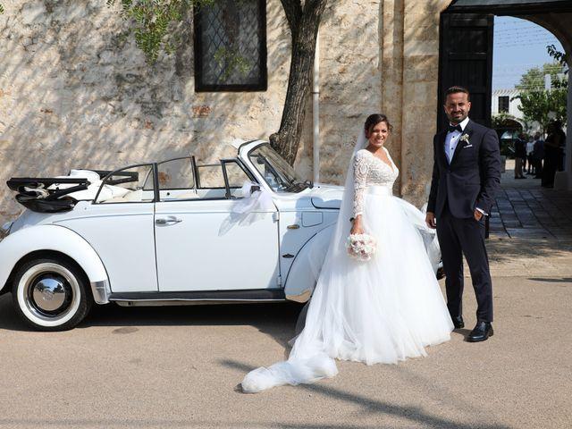 Il matrimonio di Domenico e Rox a Fasano, Brindisi 23