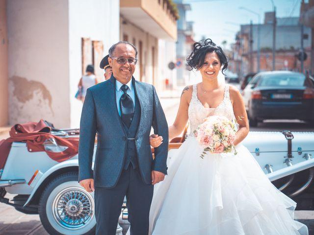Il matrimonio di Fabio e Concetta a Monteiasi, Taranto 23