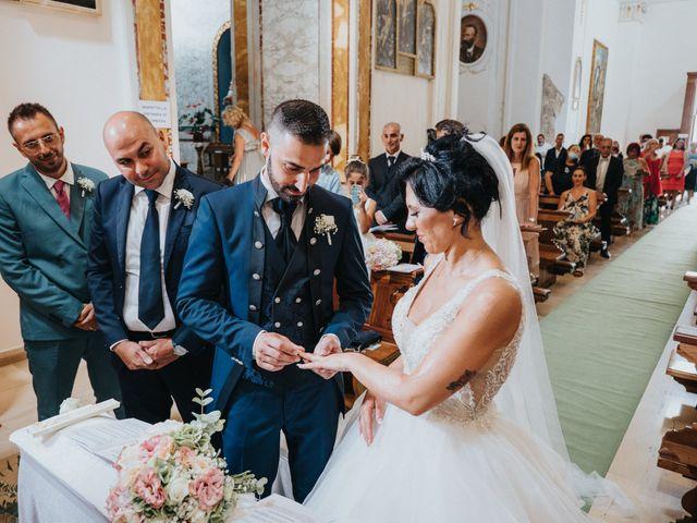 Il matrimonio di Fabio e Concetta a Monteiasi, Taranto 29