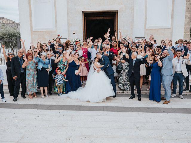 Il matrimonio di Fabio e Concetta a Monteiasi, Taranto 33