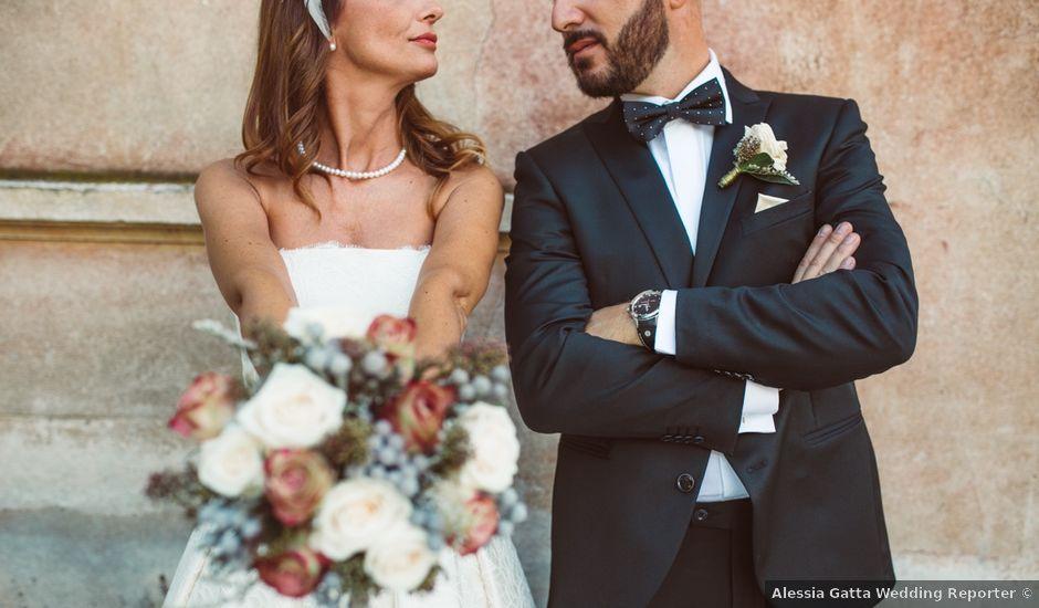 Il matrimonio di Fabrizio e Giulia a Sillavengo, Novara