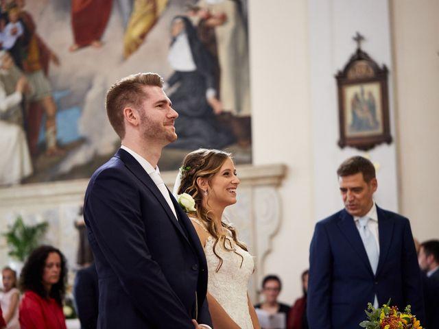 Il matrimonio di Andrea e Carolina a San Biagio di Callalta, Treviso 23