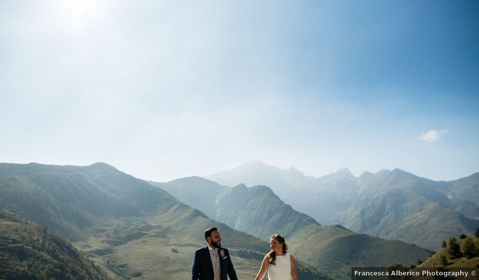 Il matrimonio di Ruggero e Camilla a Limone Piemonte, Cuneo
