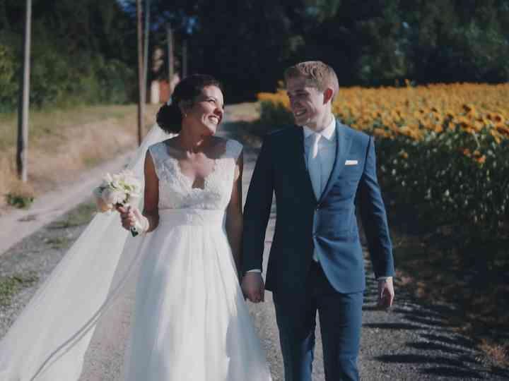 Le nozze di Sara e Josh