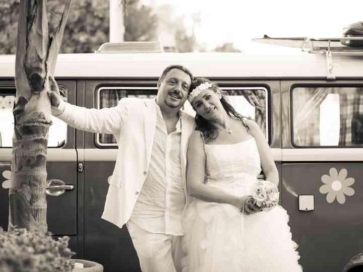le nozze di Laura e Sandro