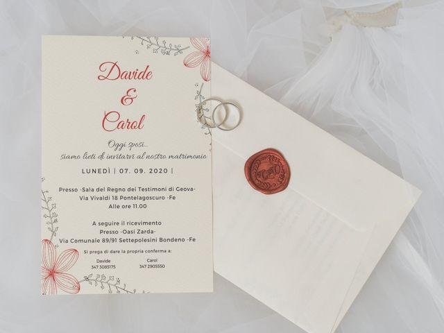 Il matrimonio di Carol e Davide a Bondeno, Ferrara 9