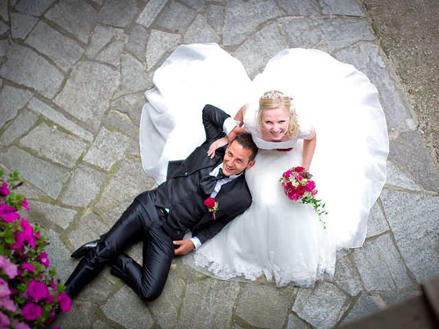 Le nozze di Tanja e Matthias