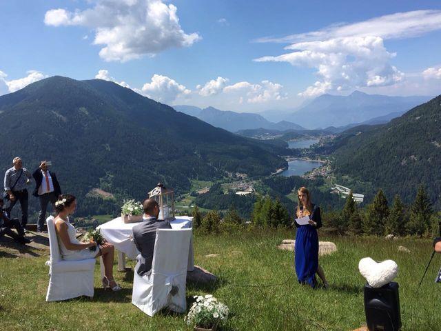Il matrimonio di Giuliano e Maria a Bedollo, Trento 3