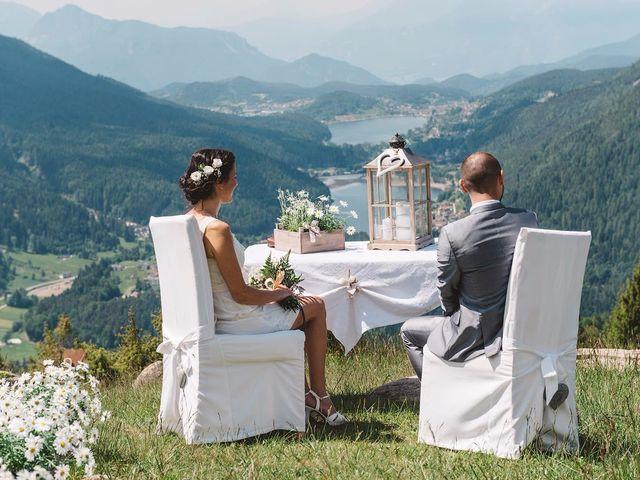 Il matrimonio di Giuliano e Maria a Bedollo, Trento 9