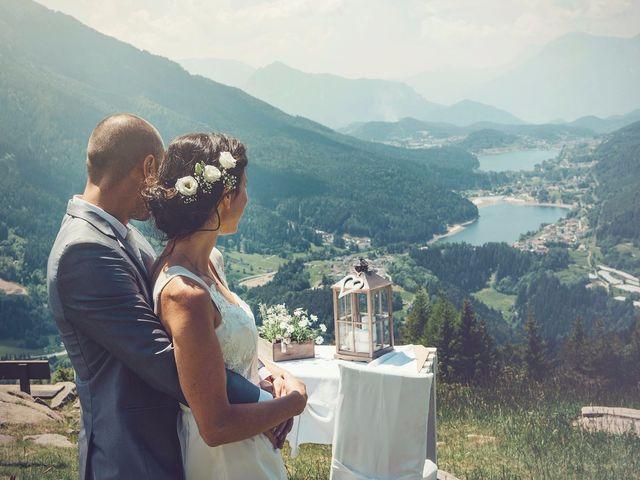 Il matrimonio di Giuliano e Maria a Bedollo, Trento 10