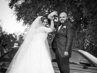 Le nozze di Natascha e Marco 1