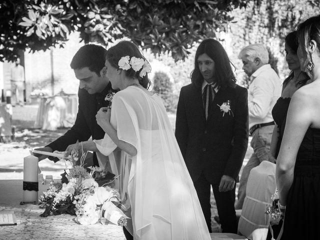 Il matrimonio di Romina e Mauro a Oviglio, Alessandria 24