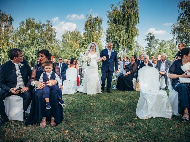Il matrimonio di Danilo e Alessia a Pombia, Novara 25