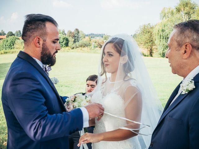Il matrimonio di Danilo e Alessia a Pombia, Novara 24