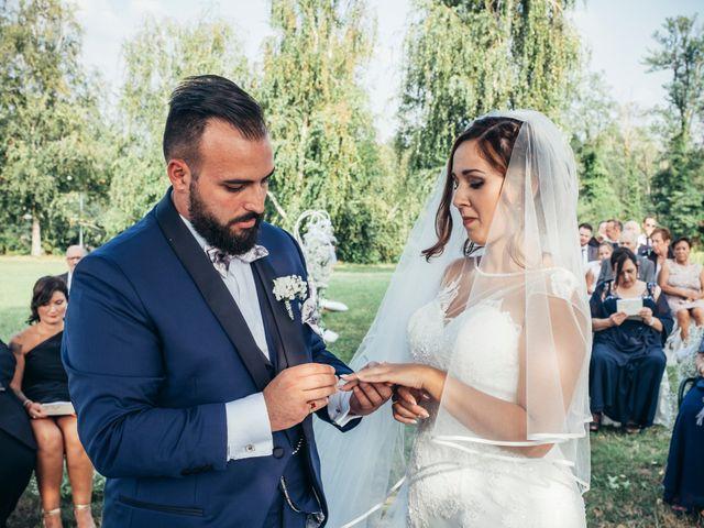 Il matrimonio di Danilo e Alessia a Pombia, Novara 20