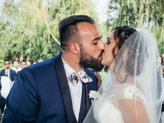 Il matrimonio di Danilo e Alessia a Pombia, Novara 17