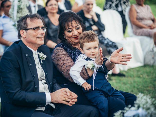 Il matrimonio di Danilo e Alessia a Pombia, Novara 45