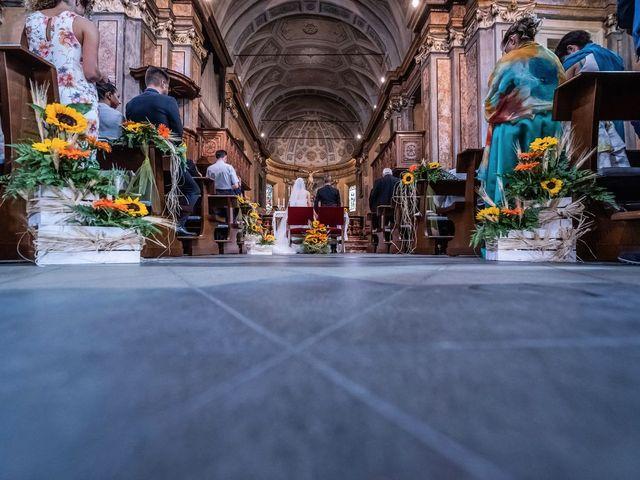 Il matrimonio di Dario e Valentina a Varallo Pombia, Novara 20