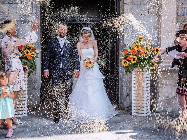 Il matrimonio di Dario e Valentina a Varallo Pombia, Novara 31