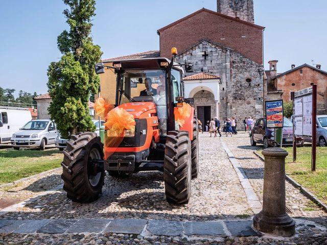 Il matrimonio di Dario e Valentina a Varallo Pombia, Novara 32