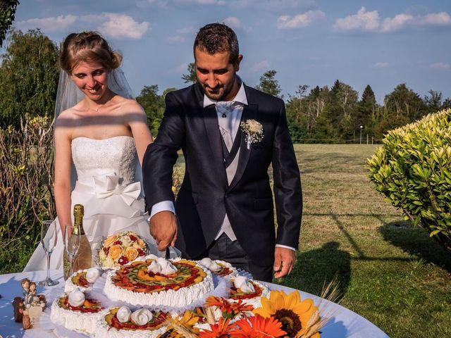Il matrimonio di Dario e Valentina a Varallo Pombia, Novara 43