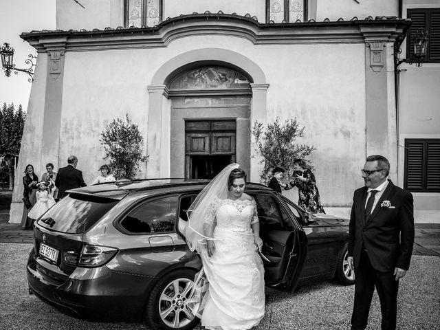Il matrimonio di Marco e Natascha a Pieve a Nievole, Pistoia 45