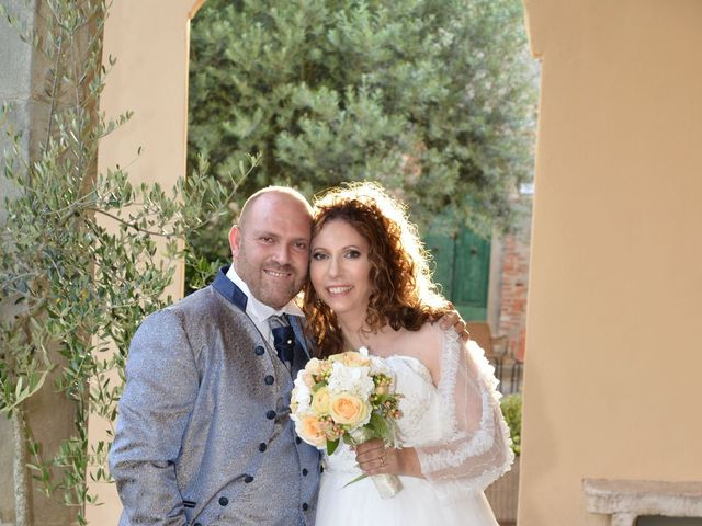 Il matrimonio di Domenico e Nadia a Chiesina Uzzanese, Pistoia 88