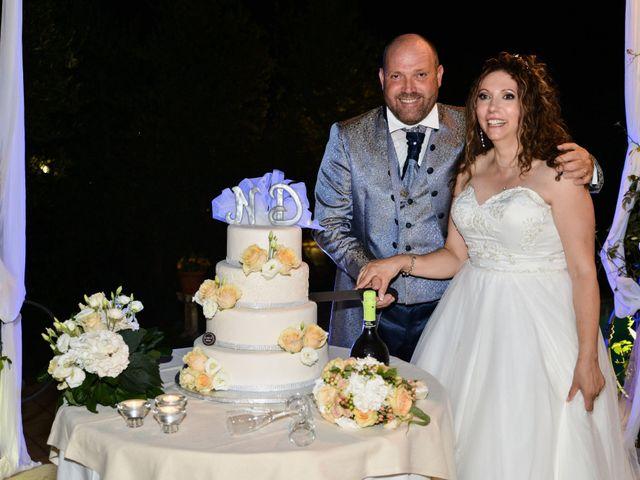 Il matrimonio di Domenico e Nadia a Chiesina Uzzanese, Pistoia 121