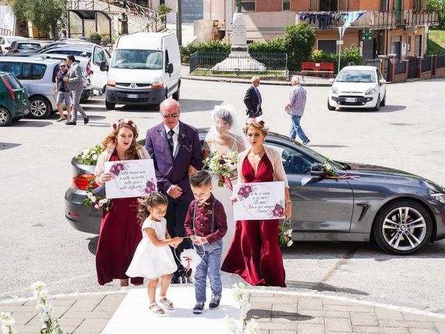 Il matrimonio di Maria e Valerio a Salvitelle, Salerno 17