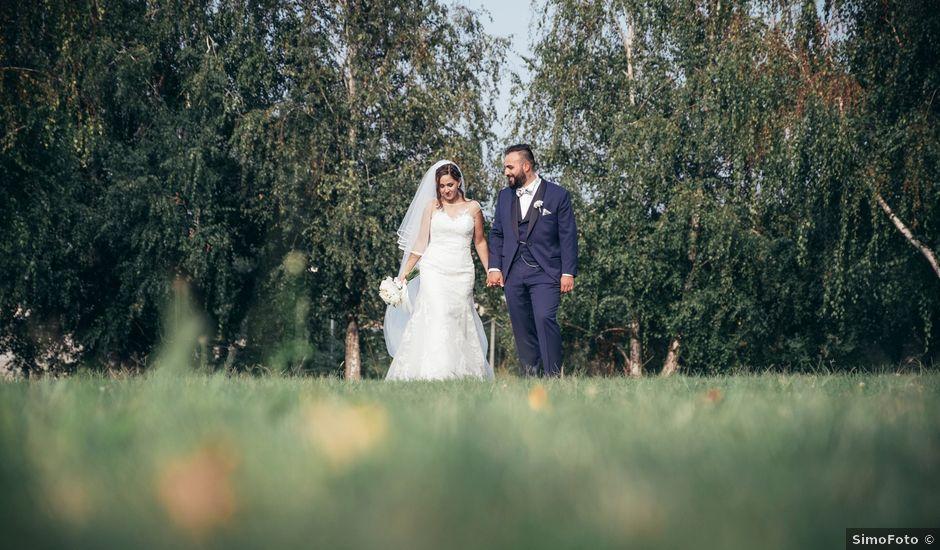 Il matrimonio di Danilo e Alessia a Pombia, Novara